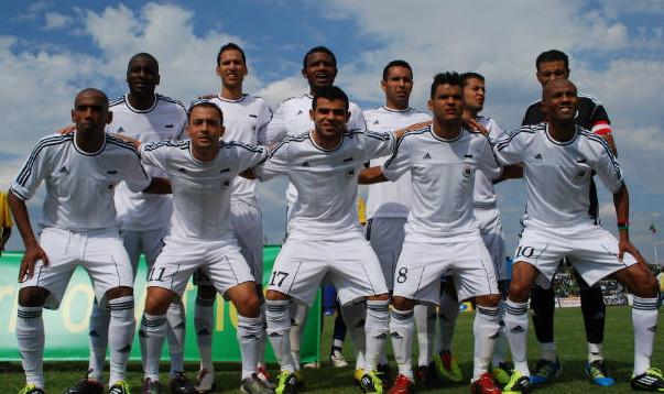 XXVIII Copa Africana de Naciones Gabón y Guinea Ecuatorial 2012 Libya-11-adidas-away-kit-white-white-white-line-up