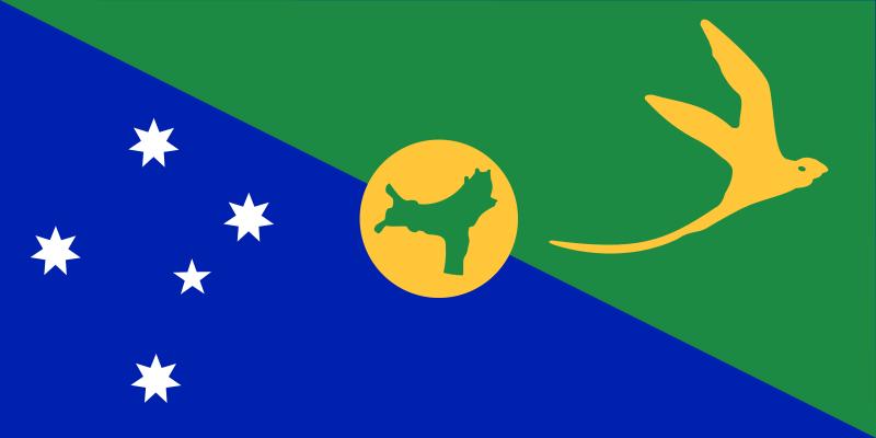 クリスマス島域旗.png