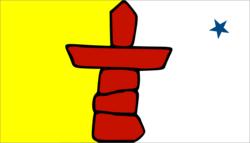 ヌナブット州旗.png