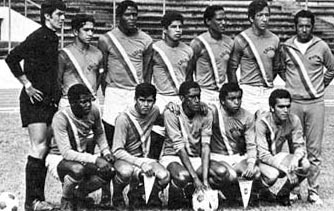 Colombia-71-74-unknown-home-kit-orange-white-orange-line up.JPG