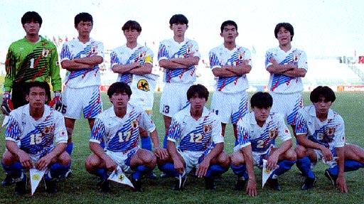 Japan-95-PUMA-U20-white-white-blue-line up.JPG